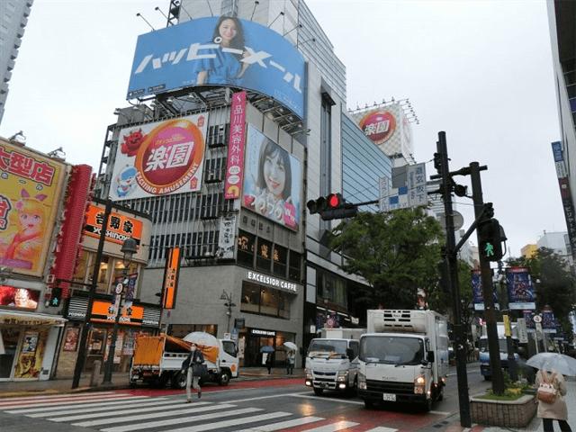 ワクワクメール広告渋谷