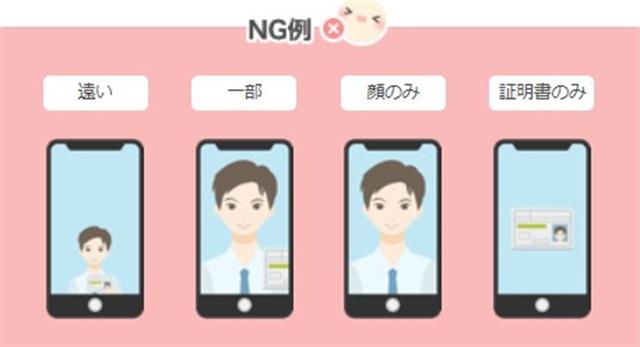 ワクワクメールセルフィー認証NG写真